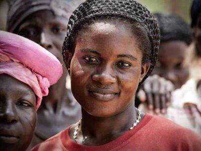 female-miner